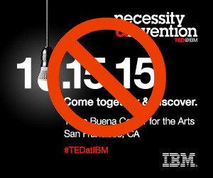 TED@IBM uses bad marketing tactics copy